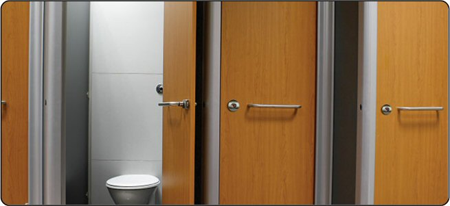 New Bathroom Partitions Wood Inspiration Of Ironwood - Wooden bathroom stall doors